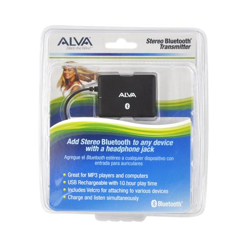 Azeca (formerly Alva) Universal Stereo Bluetooth Transmitter (3.5mm)
