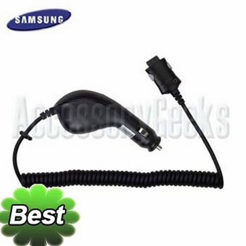 Original Samsung SGH-ZX10 / SGH-ZX20 Car Power Charger, CAD300HBEB