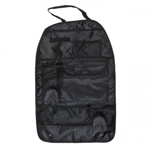 Car Back Seat Organizer Pocket Bag [Black]