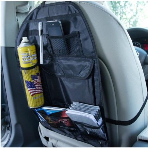 Universal Car Back Seat Organizer Pocket Bag [Black]