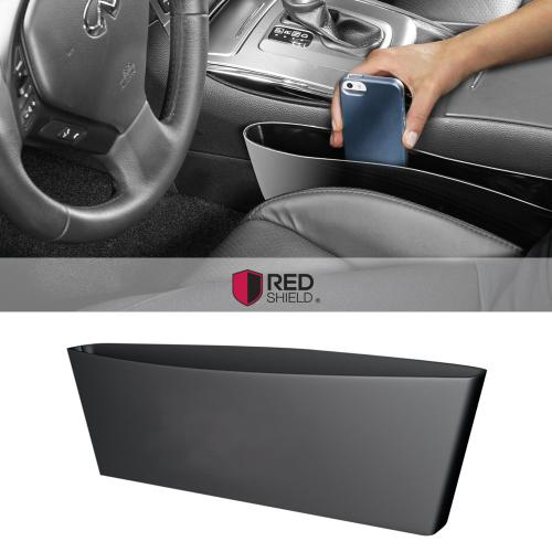 Manufacturers Universal Car Interior Seat Organizer [Black] Give You More Space, And Let You Drive More Safely! Silicone Cases / Skins