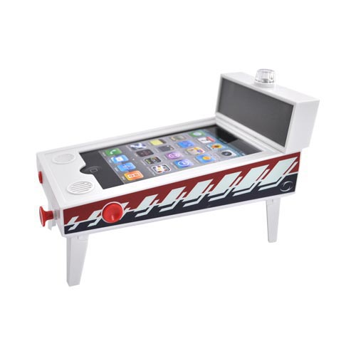 Original New Potato iPhone, iPod Touch Pinball Machine & Jackpot Slots Dock Bundle