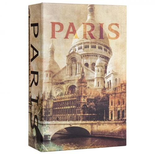 Barska Paris Book Lock box w/ Combination Lock [CB12362]