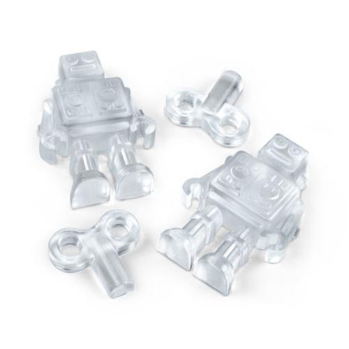 Fred & Friends Chillbots Robot Silicone Ice Cube Tray - It's Time To Unwind