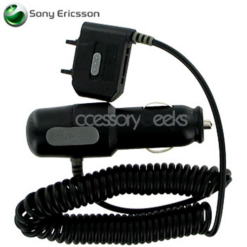 Original Sony Ericsson Car Charger (CLA-60) (K750 Type)
