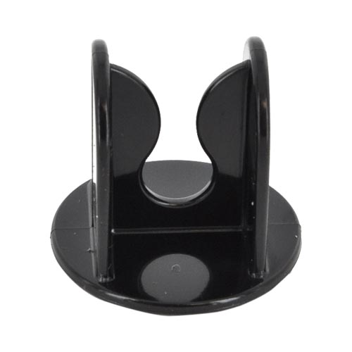 Original ClipHanger Autohook Adhesive Clip - Black (Works Great w/ ClipHanger Stick & Pivit)