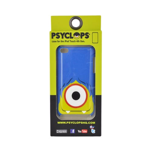 Original Psyclops Apple iPod Touch 4 Ike Hard Case - Blue Haired Green Cyclops