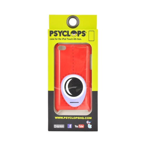 Original Psyclops Apple iPod Touch 4 Syd Hard Case - Red Hoodie Cyclops