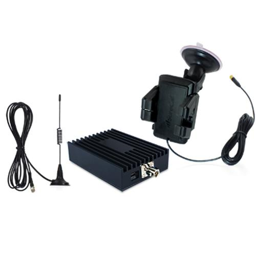 Sure-Call by CellPhone-Mate Compact 30dB Dual Band Direct Connect Mobile Amplifier Kit
