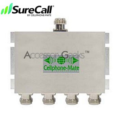 Cellphone-Mate 4 Way Coaxial Cable Splitter CM-S-4