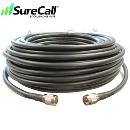 Cellphone-Mate CM400 Ultra-Low-Loss Coaxial Cable CM001-100 (100 ft)