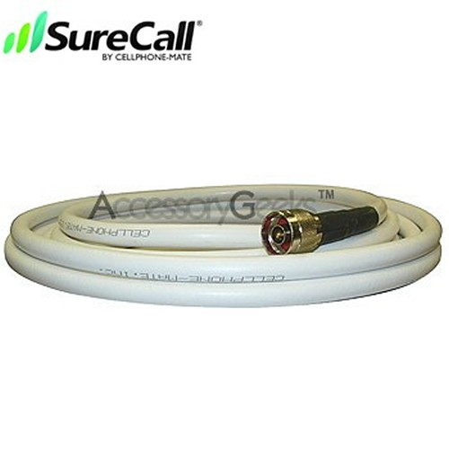 Cellphone-Mate CM400 Ultra-Low-Loss Coaxial Cable CM001-10 (10 ft) - White