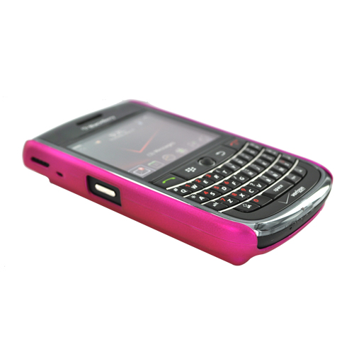Original Case-Mate Barely There Blackberry Tour 9630 Rubberized I.D Hard Case & Screen Protector - Hot Pink, CM010208