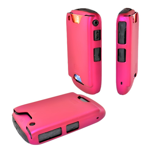Original Case-Mate BlackBerry Curve 3G 9330, 9300, 8520, 8530 ID Rubberized Case , CM010256 - Hot Pink