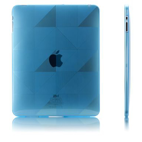 Original Case-Mate Apple iPad (1st Gen) 1st Gelli Checkmate Case, CM011194 - Blue