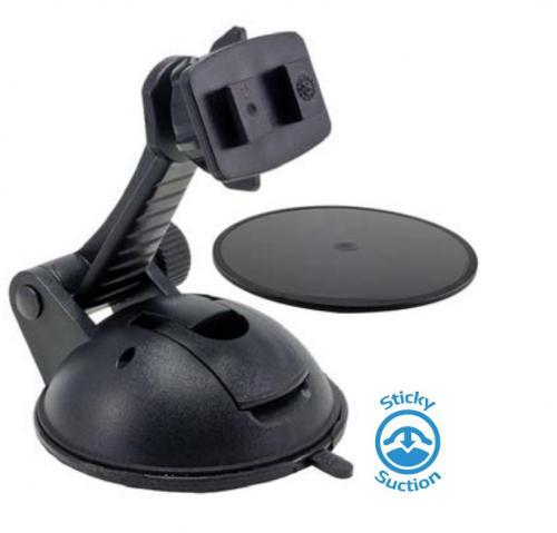 Arkon Black Multi-Surface Sticky Suction with Adhesive Dashboard Disk (CM078-SBH + AP020)