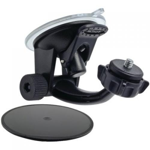 Arkon Black Windshield Dashboard Camera Mount (GN014 + SP-1420CAM + AP013 + SP-SB-RING)
