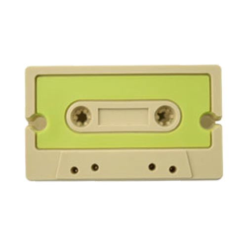 Universal Headset Cord Wrapper - Green,Tan Cassette Tape