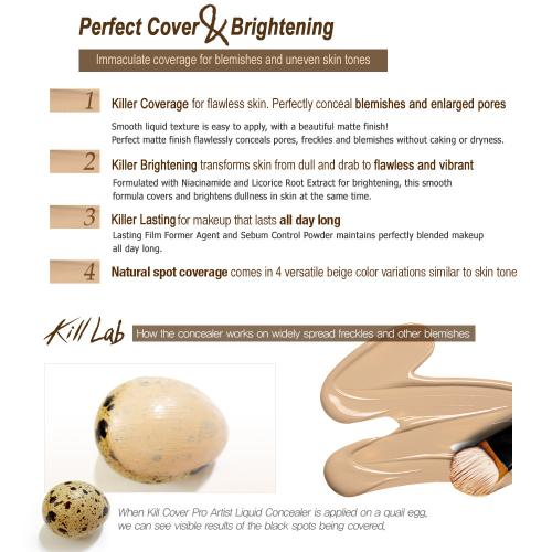 [CLIO] Kill Cover Pro Artist Liquid Concealer #03