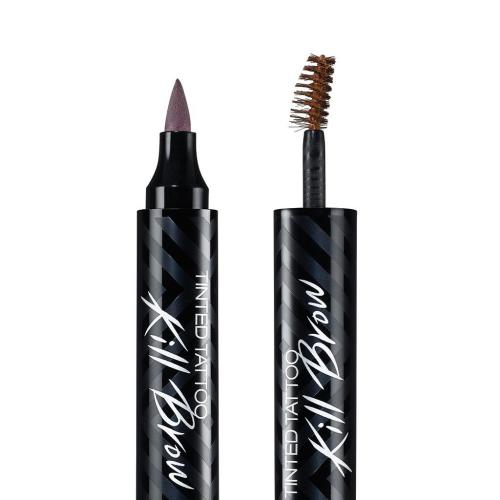[CLIO] Tinted Tattoo Kill Brow Master Set (Tattoo Pen + Brow Mascara + Tinted Tattoo Brush liner) #1 Earth Brown