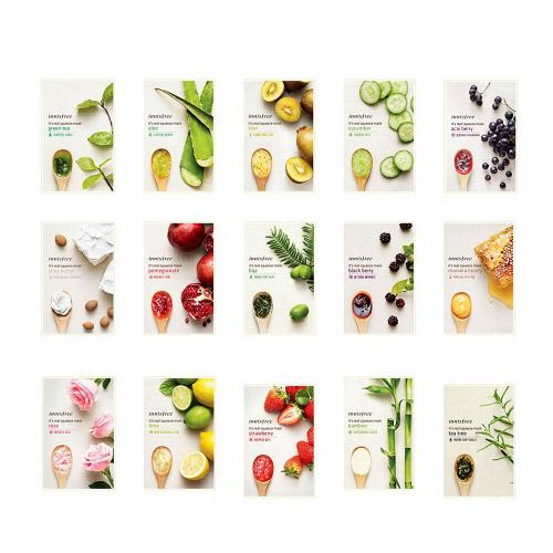 [INNISFREE] It's Real Squeeze Mask Sheet X 15 Pack