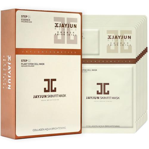 [JAYJUN] Skin Fit Collagen Aqua Brightening Mask Sheet X10 Pack