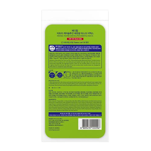 [MEDIHEAL] Teatree Healing Care Solution Essential Mask X 10 Pack