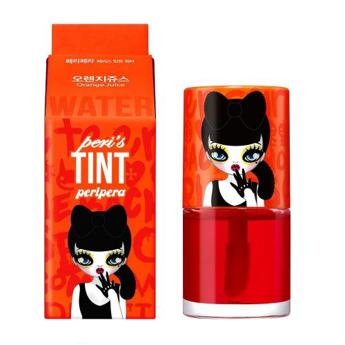 [PERIPERA] Peri's Tint Water Lip Balm, Orange Juice, 0.27 Ounce