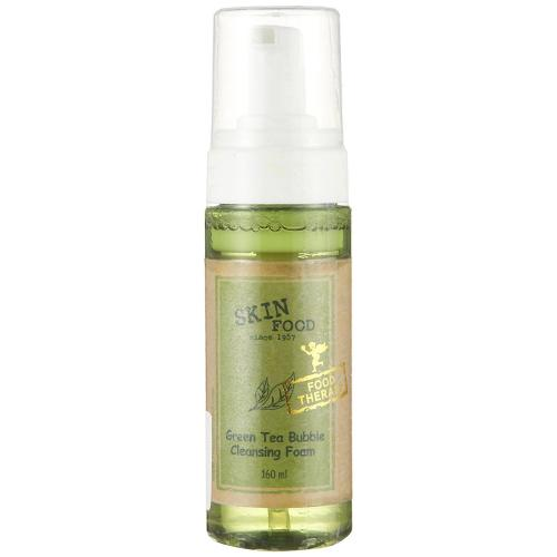 [SKINFOOD] Green Tea Bubble Cleansing Foam 160ml/5.41oz