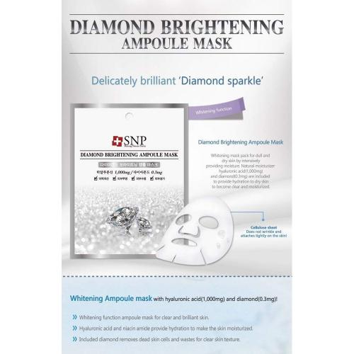 [SNP] Diamond Brightening Ampoule Mask X 10 Pack