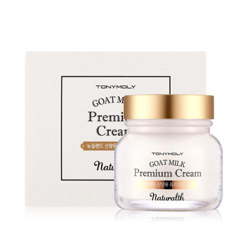 [TONYMOLY] Naturalth Goat Milk Premium Moisture Cream 60 ml