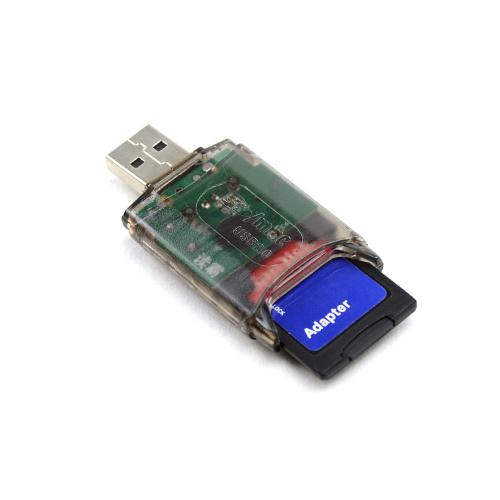 USB SD Memory Card Reader for RS-MMC,Mini SD,SD,SDHC