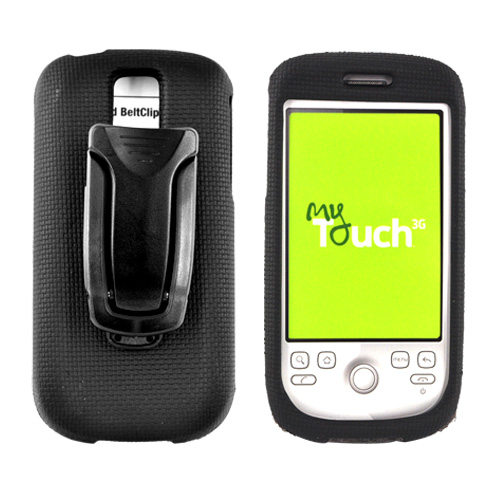 Original Body Glove T-Mobile MyTouch 3G Element Snap-on Hard Case w/ Detachable Belt Clip, CRC91304