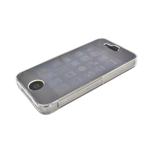 Original Body Glove Zero 360° Coverage AT&T/ Verizon Apple iPhone 4, iPhone 4S Flexible Hard Case, CRC92516 - Clear