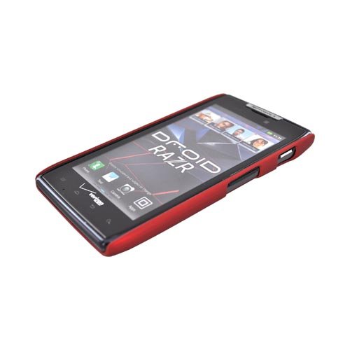 Original Body Glove Motorola Droid RAZR Fade Snap-On Hard Case w/ Lines, CRC92535 - Red