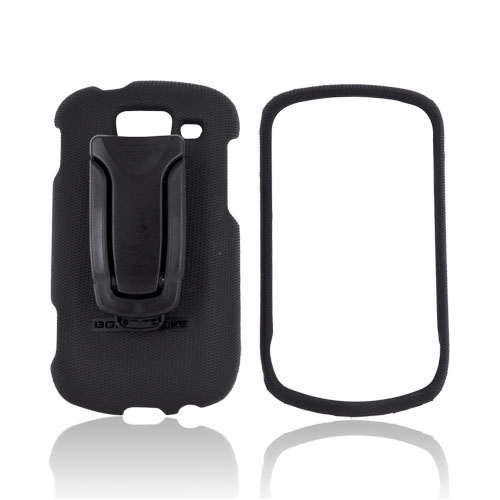Original Body Glove Samsung Brightside Snap-On Case w/ Detachable Kickstand Belt Clip, CRC92579 - Black
