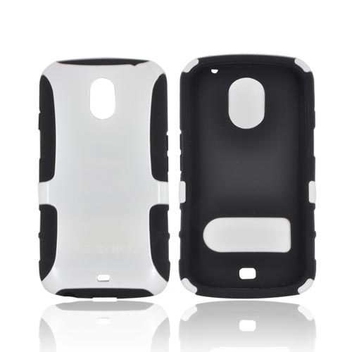 Original Seidio Samsung Galaxy Nexus Active Hard Case Over Silicone, CSK3SSGNL-GL - Pearl White/ Black