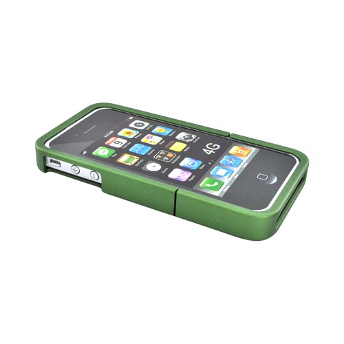 Original Seidio Apple Verizon/ AT&T iPhone 4, iPhone 4S Innocase Surface Rubberized Hard Case, CSR3IPH4P-GN - Sage Green