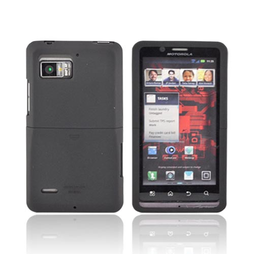 Original Seidio Motorola Droid Bionic XT875 Surface Rubberized Hard Case, CSR3MTBNC-BK - Black