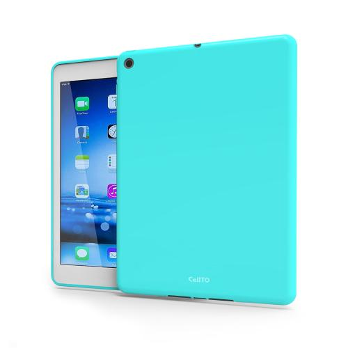 Mint Anti-Slip TPU Crystal Silicone Skin Case & Free Screen Protector for Apple iPad Mini 2/3