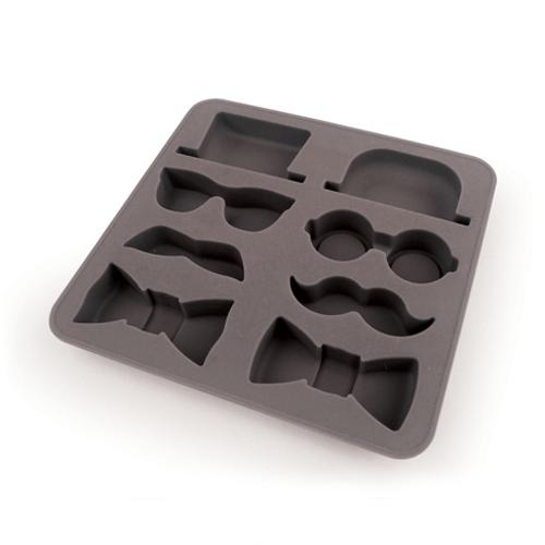 Kikkerland The Gentleman's Silicone Ice Cube Tray - Keep it Classy