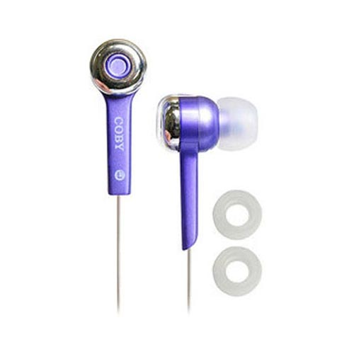 Original Coby Jammerz Digital Stereo Earphones (3.5mm), CVE52-PU - Purple