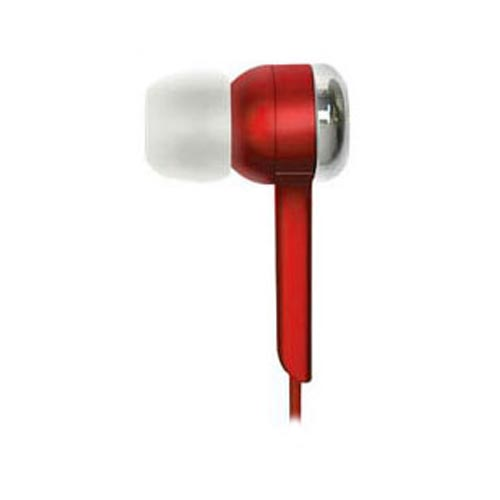 Original Coby Jammerz Digital Stereo Earphones, CVE52-RD - Red (3.5mm)
