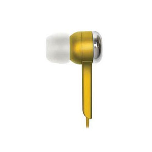 Original Coby Jammerz Digital Stereo Earphones, CVE52-YL - Yellow (3.5mm)