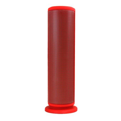 CycloneSound SPARK Portable Bluetooth Tower Speaker w/ Memory Card Slot & LED Lights [Red]
