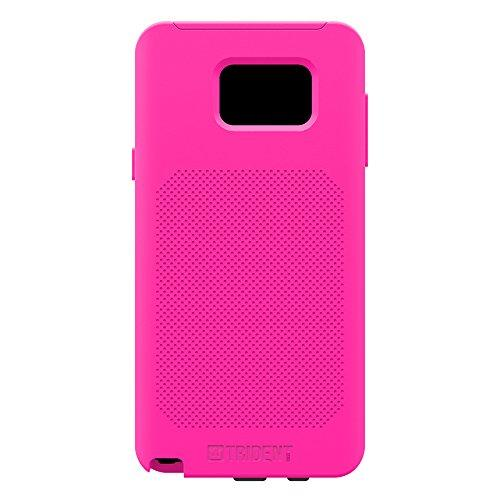 Samsung Galaxy Note 5,Trident [Pink] Aegis Pro Series Slim & Protective Durable Protective Dual Layer Hybrid Case w/ Free Screen Protector