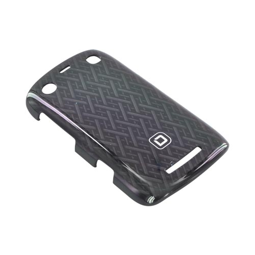 Original Dicota Blackberry Curve 9360 Hard Case, D30325 - Black Woven Design