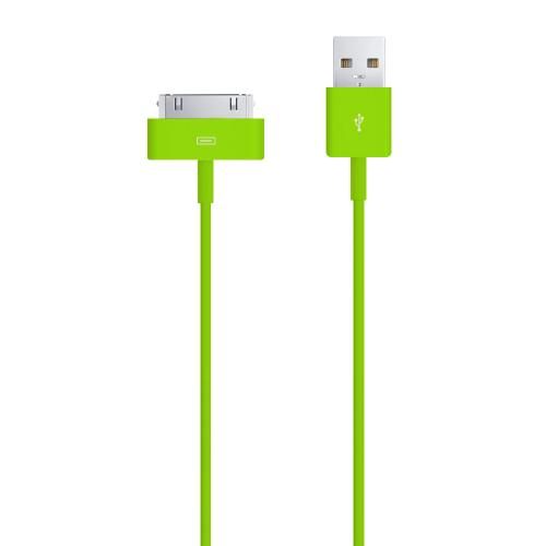 Lively Lime Green 6 ft. Apple iPhone/ iPod USB Charge & Sync Data Cable
