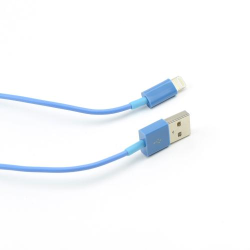 Ocean Blue 6 ft. Charge & Sync Lightning Cable for Apple iPhone 5/5S/ iPod Touch 5/ New iPad/ iPad Mini