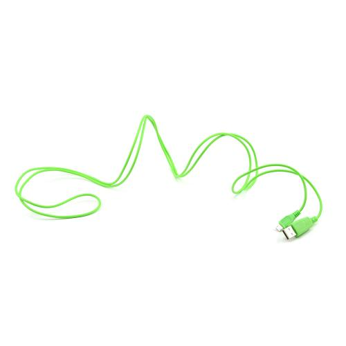 Lively Lime Green 6 ft. Micro USB to USB Charge & Sync Data Cable